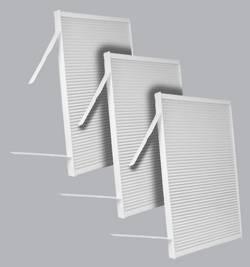 FilterHeads - AQ1171 Cabin Air Filter - Particulate Media 3PK - Buy 2, Get 1 Free!