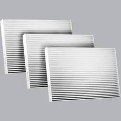 FilterHeads - AQ1172 Cabin Air Filter - Particulate Media 3PK - Buy 2, Get 1 Free!