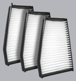 FilterHeads - AQ1175 Cabin Air Filter - Particulate Media 3PK - Buy 2, Get 1 Free!