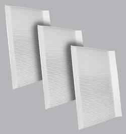 FilterHeads - AQ1179 Cabin Air Filter - Particulate Media 3PK - Buy 2, Get 1 Free!