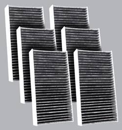 FilterHeads - AQ1180C Cabin Air Filter - Carbon Media, Absorbs Odors 3PK - Buy 2, Get 1 Free!
