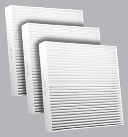 FilterHeads - AQ1182 Cabin Air Filter - Particulate Media 3PK - Buy 2, Get 1 Free!