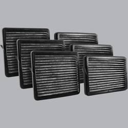 FilterHeads - AQ1184C Cabin Air Filter - Carbon Media, Absorbs Odors 3PK - Buy 2, Get 1 Free!