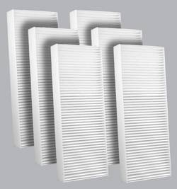 FilterHeads - AQ1186 Cabin Air Filter - Particulate Media 3PK - Buy 2, Get 1 Free!