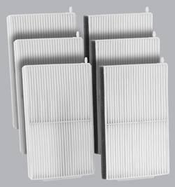 FilterHeads - AQ1187 Cabin Air Filter - Particulate Media 3PK - Buy 2, Get 1 Free!