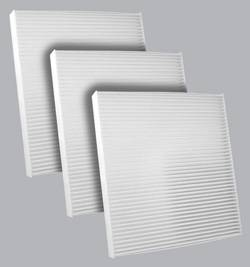 FilterHeads - AQ1189 Cabin Air Filter - Particulate Media 3PK - Buy 2, Get 1 Free!