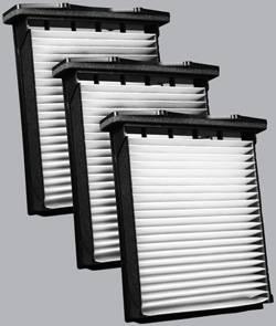 FilterHeads - AQ1190 Cabin Air Filter - Particulate Media 3PK - Buy 2, Get 1 Free!