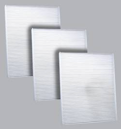 FilterHeads - AQ1197 Cabin Air Filter - Particulate Media 3PK - Buy 2, Get 1 Free!