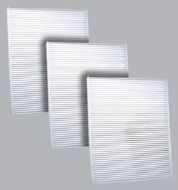 FilterHeads - AQ1197 Cabin Air Filter - Particulate Media 3PK - Buy 2, Get 1 Free!