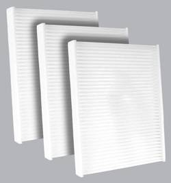 FilterHeads - AQ1198 Cabin Air Filter - Particulate Media 3PK - Buy 2, Get 1 Free!
