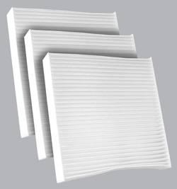 FilterHeads - AQ1199 Cabin Air Filter - Particulate Media 3PK - Buy 2, Get 1 Free!