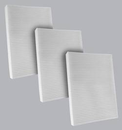 FilterHeads - AQ1209 Cabin Air Filter - Particulate Media 3PK - Buy 2, Get 1 Free!