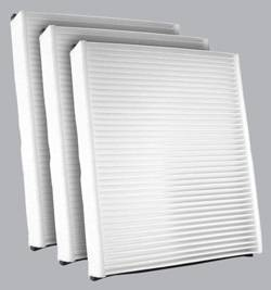 FilterHeads - AQ1211 Cabin Air Filter - Particulate Media 3PK - Buy 2, Get 1 Free!