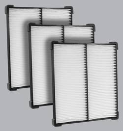 FilterHeads - AQ1214 Cabin Air Filter - Particulate Media 3PK - Buy 2, Get 1 Free!