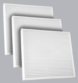 FilterHeads - AQ1225 Cabin Air Filter - Particulate Media 3PK - Buy 2, Get 1 Free!