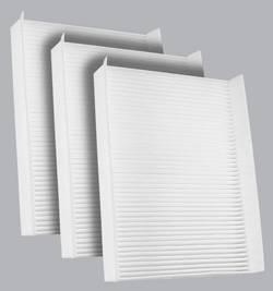 FilterHeads - AQ1226 Cabin Air Filter - Particulate Media 3PK - Buy 2, Get 1 Free!