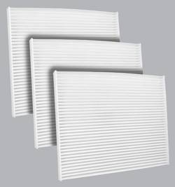 FilterHeads - AQ1227 Cabin Air Filter - Particulate Media 3PK - Buy 2, Get 1 Free!