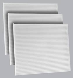 FilterHeads - AQ1228 Cabin Air Filter - Particulate Media 3PK - Buy 2, Get 1 Free!