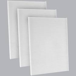 FilterHeads - AQ1230 Cabin Air Filter - Particulate Media 3PK - Buy 2, Get 1 Free!