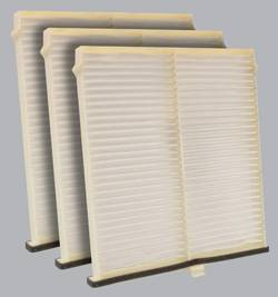 FilterHeads - AQ1231 Cabin Air Filter - Particulate Media 3PK - Buy 2, Get 1 Free!