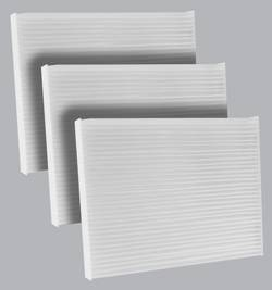 FilterHeads - AQ1233 Cabin Air Filter - Particulate Media 3PK - Buy 2, Get 1 Free!