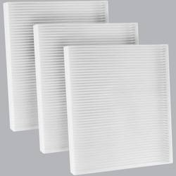 FilterHeads - AQ1240 Cabin Air Filter - Particulate Media 3PK - Buy 2, Get 1 Free!