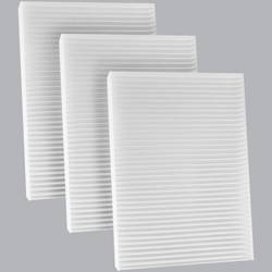 FilterHeads - AQ1241 Cabin Air Filter - Particulate Media 3PK - Buy 2, Get 1 Free!