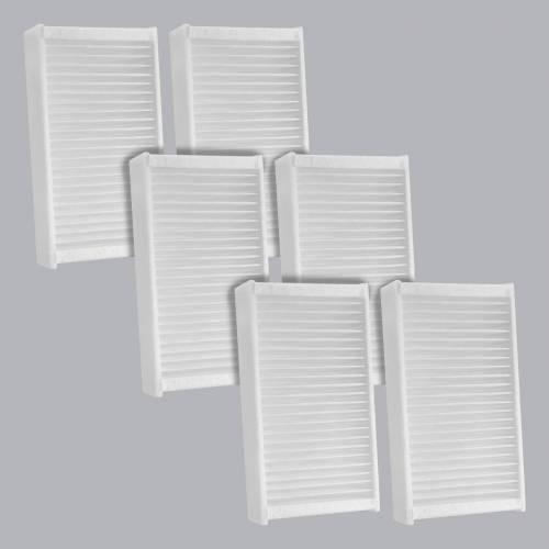 FilterHeads - AQ1239 Cabin Air Filter - Particulate Media 3PK - Buy 2, Get 1 Free!