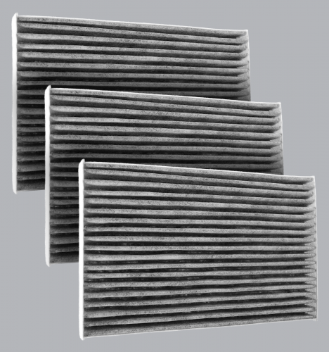 FilterHeads - AQ1172C Cabin Air Filter - Carbon Media, Absorbs Odors 3PK - Buy 2, Get 1 Free!