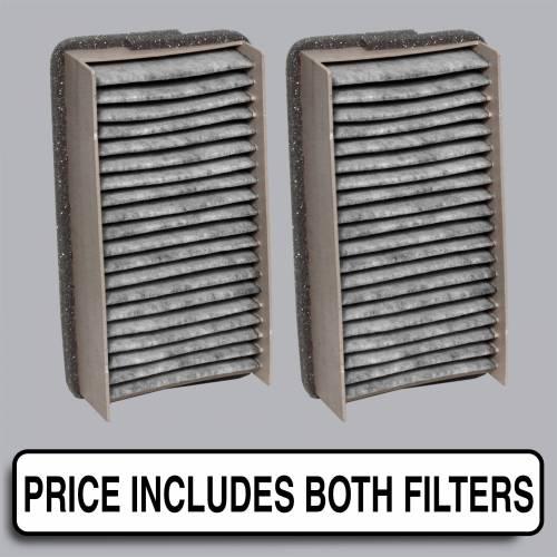 FilterHeads - AQ1010C Cabin Air Filter - Carbon Media, Absorbs Odors