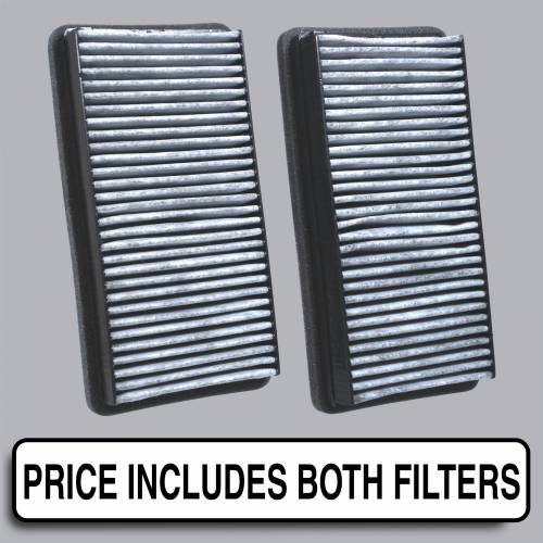 FilterHeads - AQ1041C Cabin Air Filter - Carbon Media, Absorbs Odors