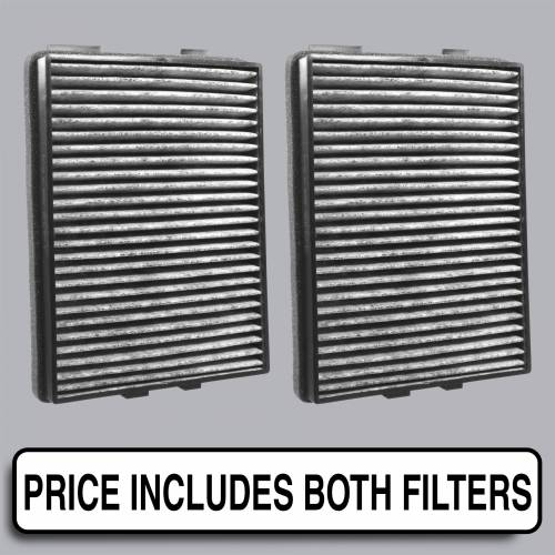 FilterHeads - AQ1055C Cabin Air Filter - Carbon Media, Absorbs Odors