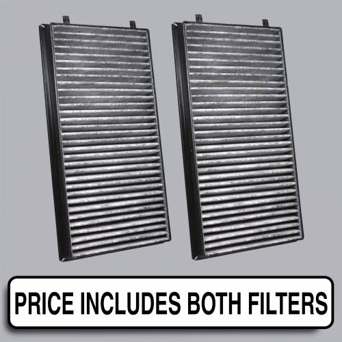 FilterHeads - AQ1066C Cabin Air Filter - Carbon Media, Absorbs Odors