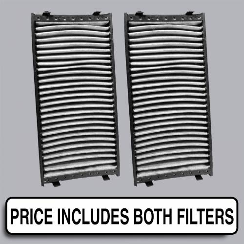 FilterHeads - AQ1147C Cabin Air Filter - Carbon Media, Absorbs Odors