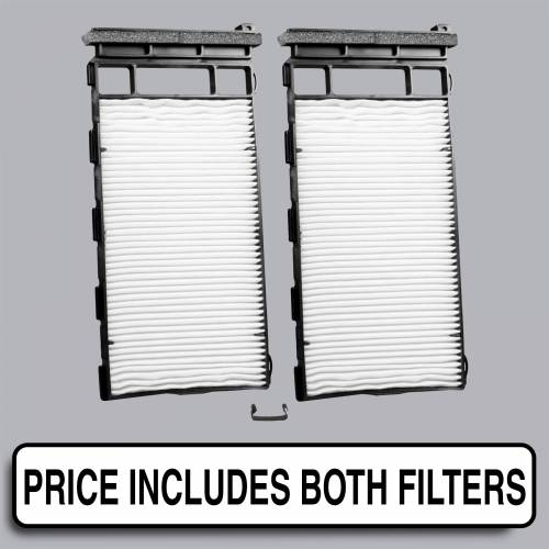 FilterHeads - AQ1166 Cabin Air Filter - Particulate Media