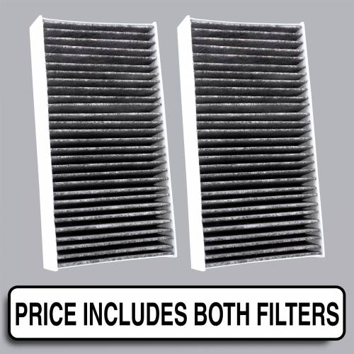 FilterHeads - AQ1180C Cabin Air Filter - Carbon Media, Absorbs Odors