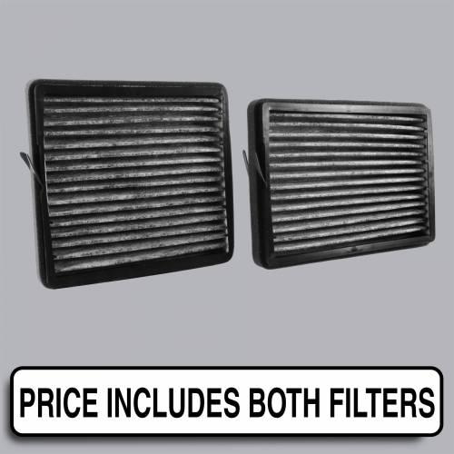 FilterHeads - AQ1184C Cabin Air Filter - Carbon Media, Absorbs Odors