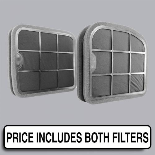 FilterHeads - AQ1193C Cabin Air Filter - Carbon Media, Absorbs Odors