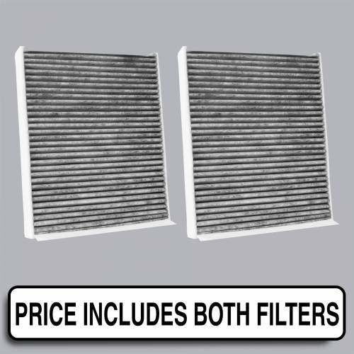 FilterHeads - AQ1194C Cabin Air Filter - Carbon Media, Absorbs Odors