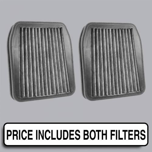 FilterHeads - AQ1208C Cabin Air Filter - Carbon Media, Absorbs Odors