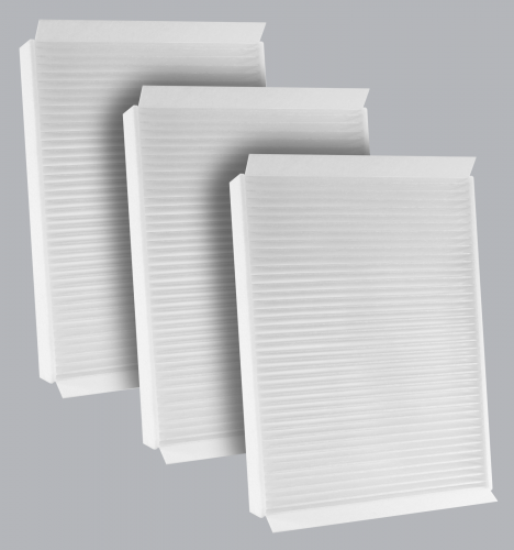 FilterHeads - AQ1252 Cabin Air Filter - Particulate Media 3PK - Buy 2, Get 1 Free!