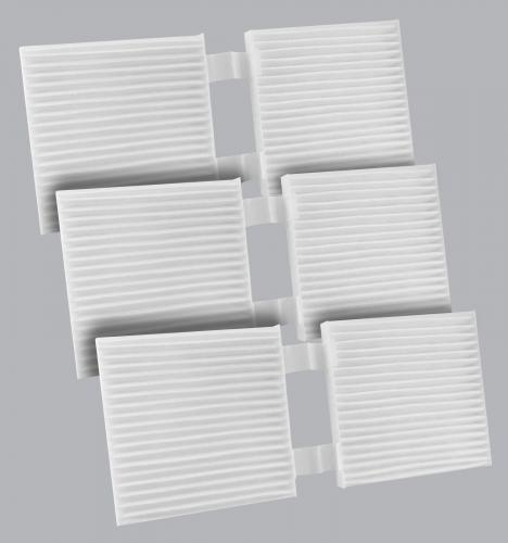FilterHeads - AQ1234 Cabin Air Filter - Particulate Media 3PK - Buy 2, Get 1 Free!