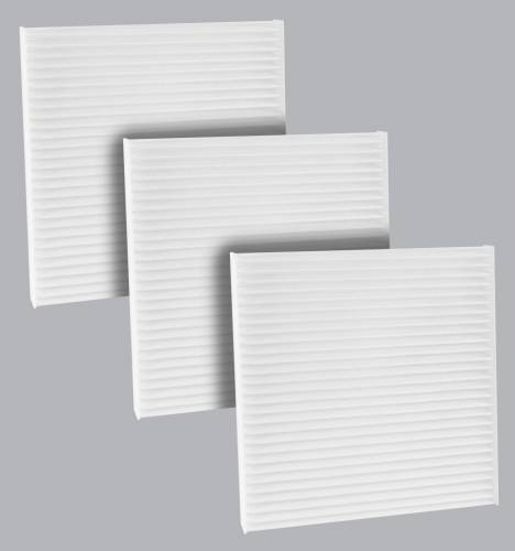 FilterHeads - AQ1236 Cabin Air Filter - Particulate Media 3PK - Buy 2, Get 1 Free!
