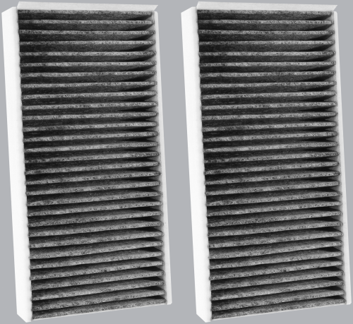 FilterHeads - AQ1254C Cabin Air Filter - Carbon Media, Absorbs Odors