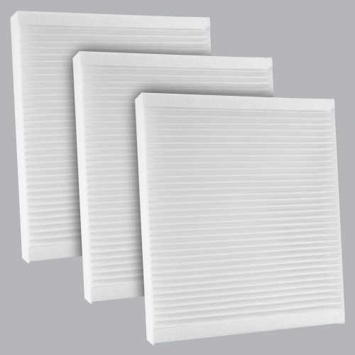 FilterHeads - AQ1164 Cabin Air Filter - Particulate Media 3PK - Buy 2, Get 1 Free!