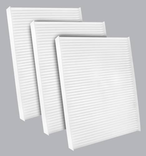 AQ1255 Cabin Air Filter - Particulate Media 3PK - Buy 2, Get 1 Free!