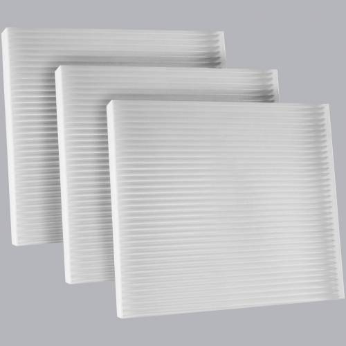 FilterHeads - AQ1260 Cabin Air Filter - Particulate Media 3PK - Buy 2, Get 1 Free!