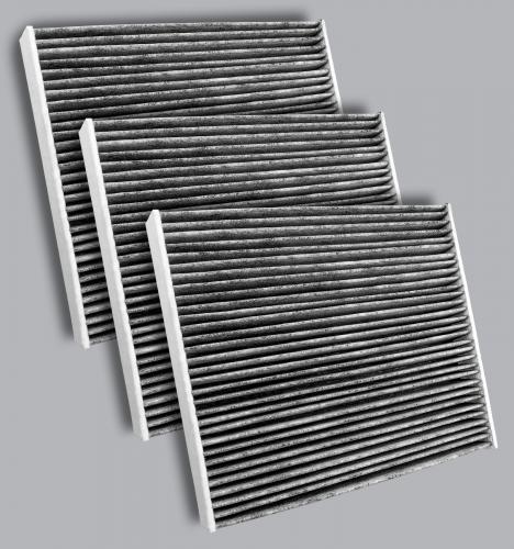 FilterHeads - AQ1277C-B Cabin Air Filter - Carbon Media, Absorbs Odors 3PK - Buy 2, Get 1 Free!