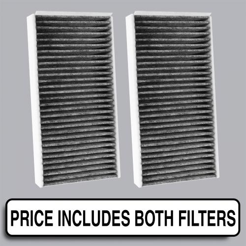 FilterHeads - AQ1254C Cabin Air Filter - Carbon Media, Absorbs Odors