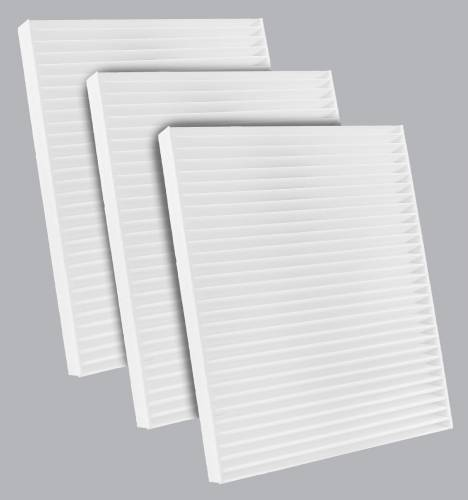 FilterHeads - AQ1286 Cabin Air Filter - Particulate Media 3PK - Buy 2, Get 1 Free!